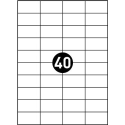 TULOSTUSTARRAT 52,5x29,7 MM A4 100 ARKKIA