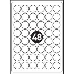 TULOSTUSTARRAT Ø30 MM A4 100 ARKKIA