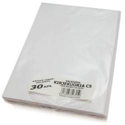 KIRJEKUORIA C5 VALKOINEN 30 KPL TARRASULJENTA